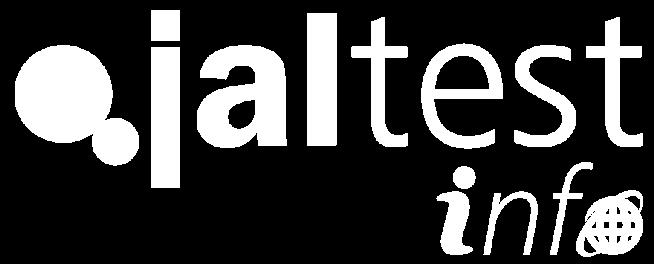 white jaltest info online logo