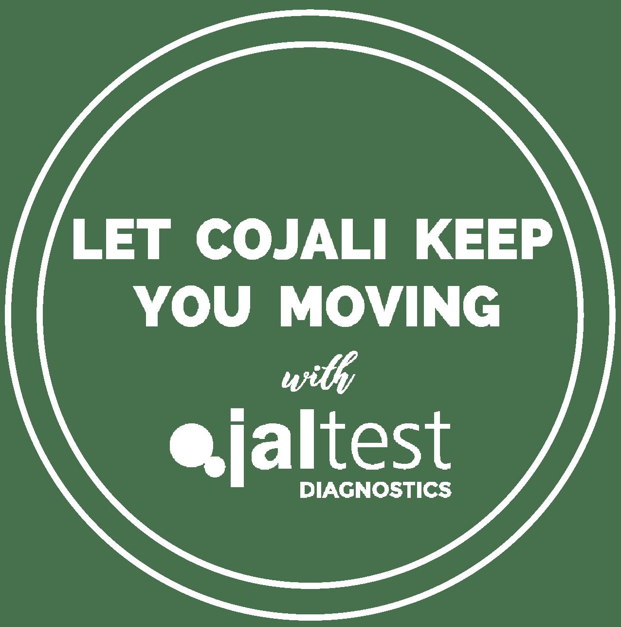 white cojali keep you moving graphic
