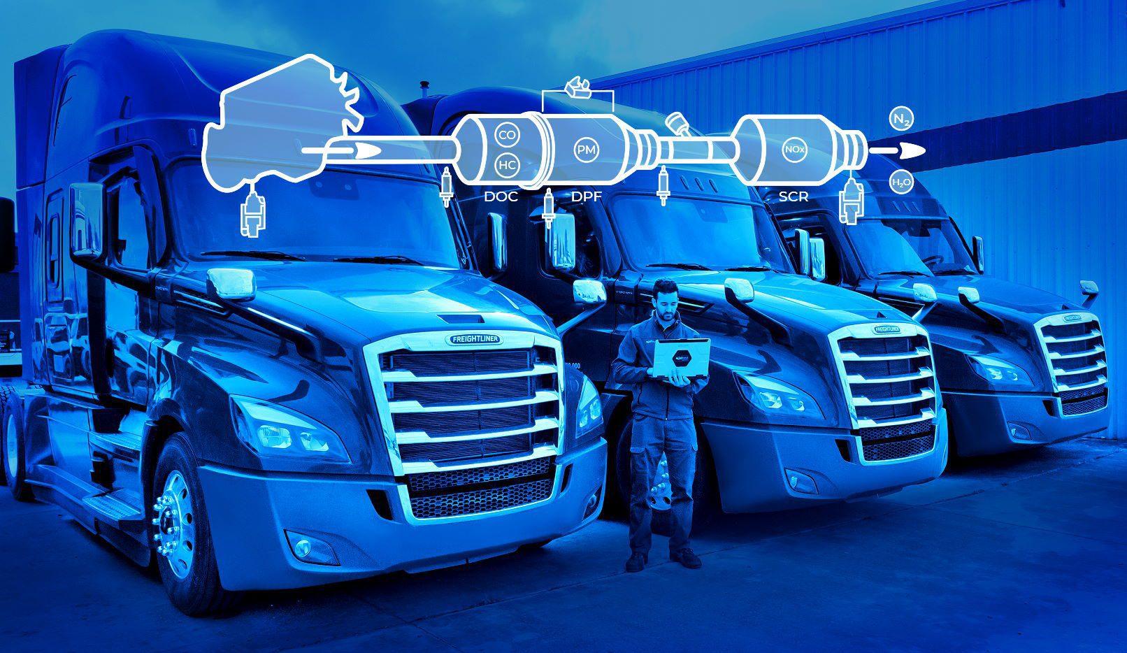 Jaltest DPF with Trucks
