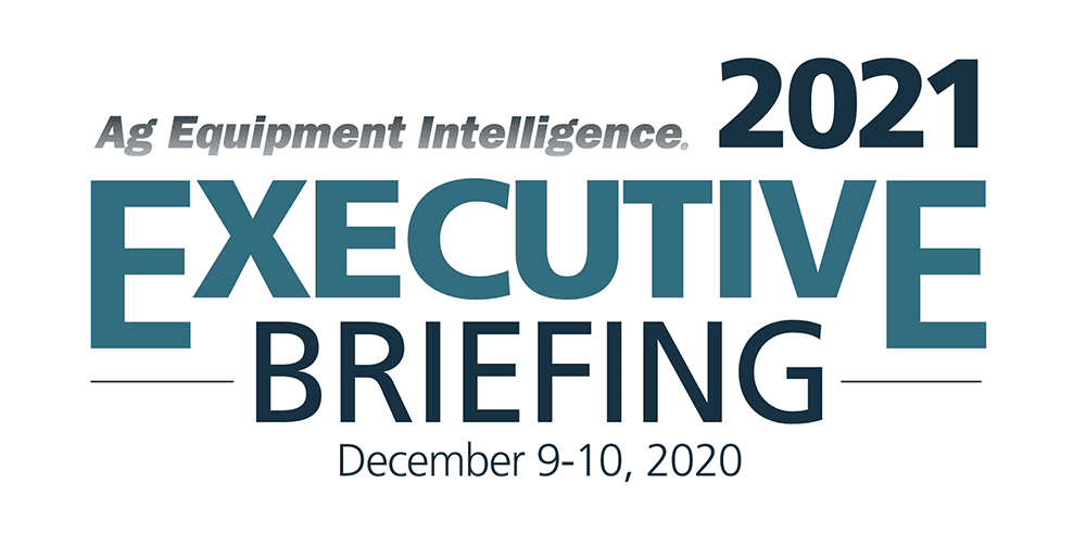 Ag Equipment Intelligence 2021 Executive Briefing